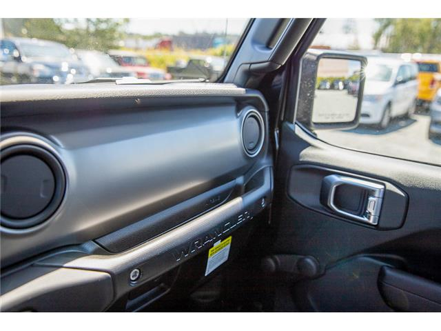 2019 Jeep Wrangler Sport (Stk: K675457) in Surrey - Image 23 of 24