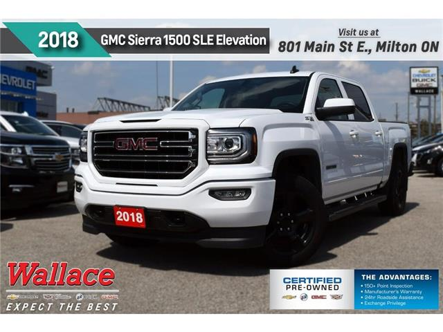 2018 GMC Sierra 1500 SLE/ELEVATION PKG/Z71 PKG/KODIAK PKG/20s/V8 (Stk: PR5103) in Milton - Image 1 of 27