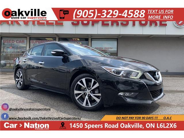 2016 Nissan Maxima SL | PANO ROOF | NAVI | B/U CAM | LEATHER (Stk: OSP048) in Oakville - Image 1 of 26
