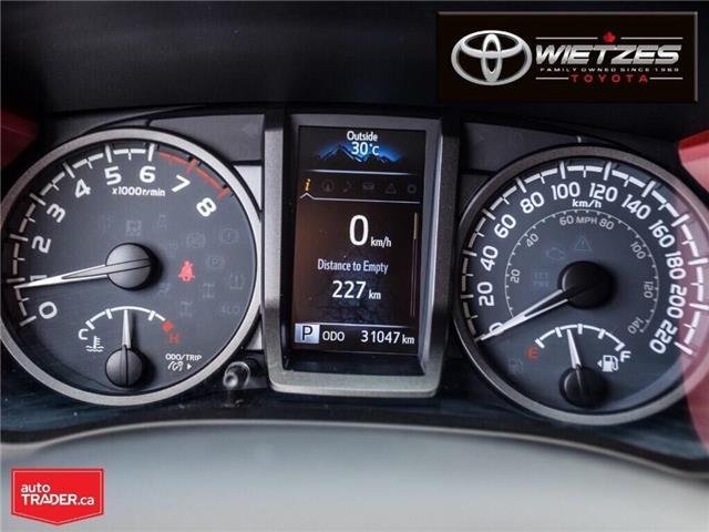 2017 Toyota Tacoma SR5 (Stk: U2736) in Vaughan - Image 24 of 26