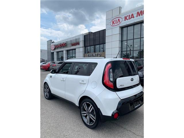 2015 Kia Soul SX LUX|NAVI|PANOROOF|LEATHER|ONE OWNER|LOW KM| (Stk: K0473) in North York - Image 3 of 14
