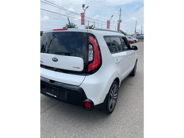 2015 Kia Soul SX LUX|NAVI|PANOROOF|LEATHER|ONE OWNER|LOW KM| (Stk: K0473) in North York - Image 5 of 14