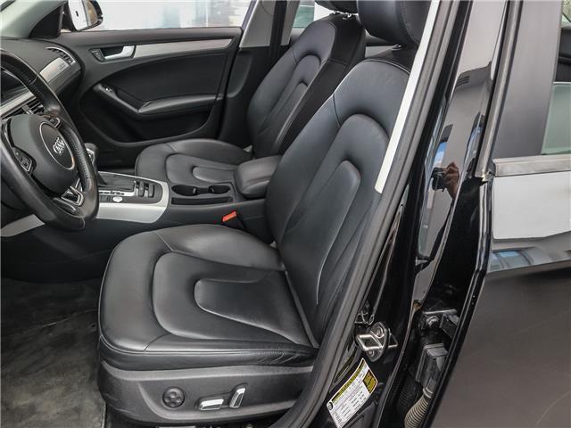 2015 Audi A4 2.0T Komfort plus (Stk: P3151) in Toronto - Image 11 of 25