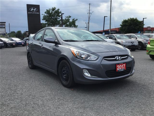 2017 Hyundai Accent LE (Stk: R76964) in Ottawa - Image 1 of 11