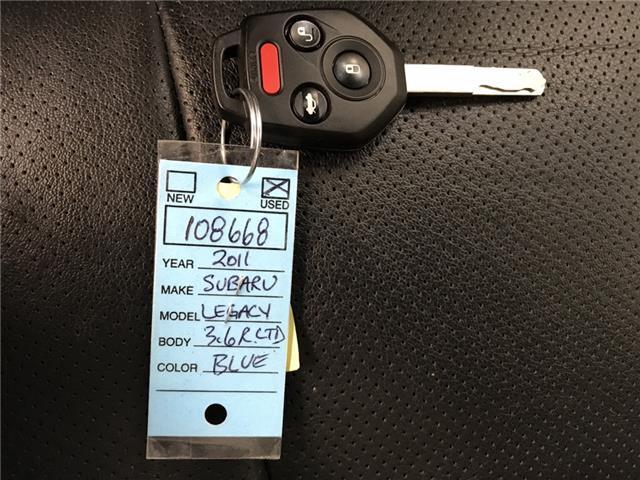 2011 Subaru Legacy 3.6 R Limited Package (Stk: 108668) in Lethbridge - Image 25 of 25
