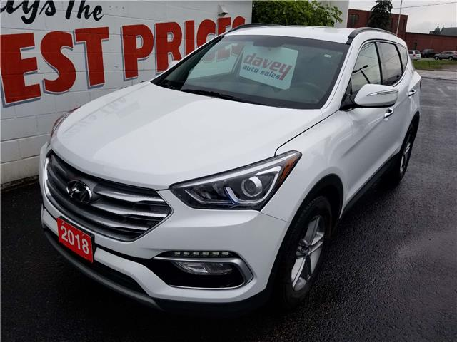 2018 Hyundai Santa Fe Sport 2.4 Premium (Stk: 19-480) in Oshawa - Image 1 of 15