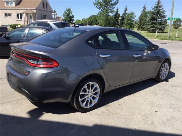2013 Dodge Dart Limited/GT (Stk: ) in Winnipeg - Image 5 of 15