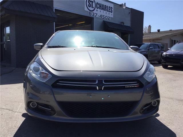 2013 Dodge Dart Limited/GT (Stk: ) in Winnipeg - Image 8 of 15