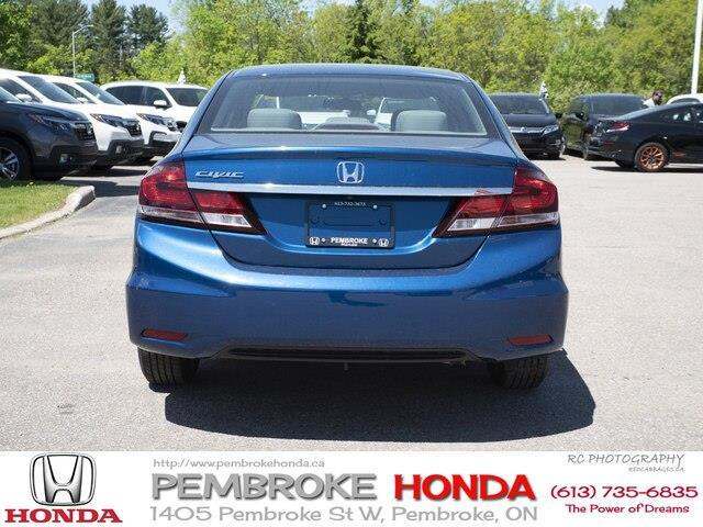 2015 Honda Civic LX (Stk: P7405) in Pembroke - Image 21 of 24