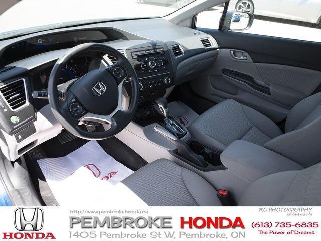2015 Honda Civic LX (Stk: P7405) in Pembroke - Image 15 of 24