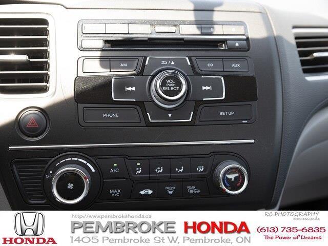 2015 Honda Civic LX (Stk: P7405) in Pembroke - Image 17 of 24