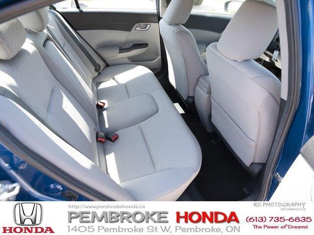2015 Honda Civic LX (Stk: P7405) in Pembroke - Image 16 of 24