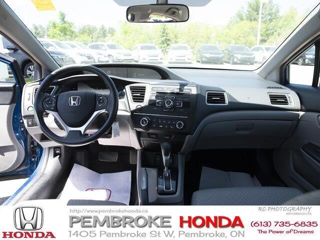 2015 Honda Civic LX (Stk: P7405) in Pembroke - Image 10 of 24