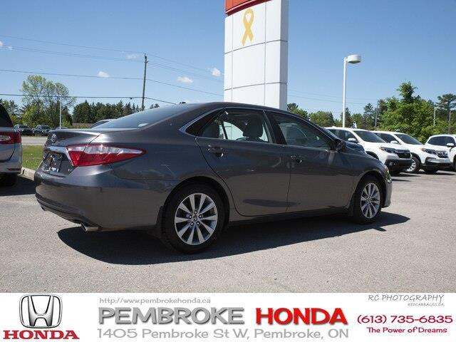 2015 Toyota Camry XLE V6 (Stk: 19225A) in Pembroke - Image 8 of 21