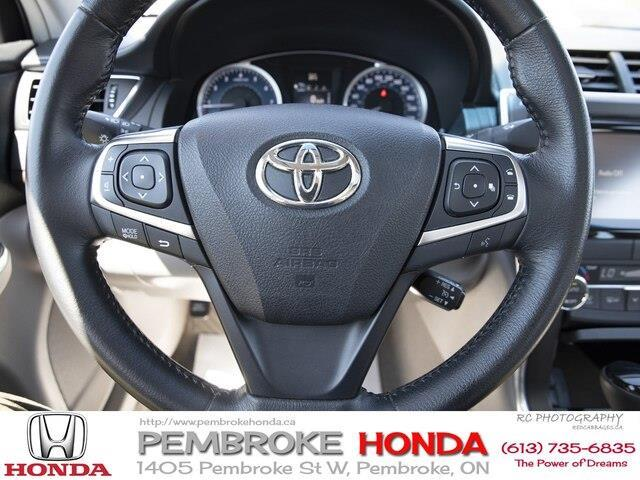 2015 Toyota Camry XLE V6 (Stk: 19225A) in Pembroke - Image 10 of 23