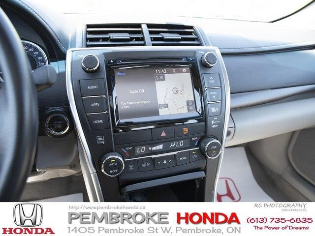 2015 Toyota Camry XLE V6 (Stk: 19225A) in Pembroke - Image 12 of 23