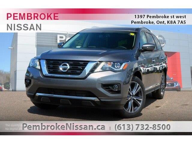 2018 Nissan Pathfinder Platinum (Stk: 18316) in Pembroke - Image 1 of 20