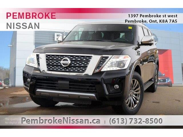 2018 Nissan Armada Platinum (Stk: S180125) in Pembroke - Image 1 of 20