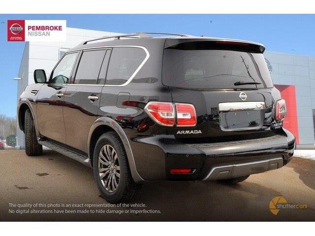 2018 Nissan Armada Platinum (Stk: S180125) in Pembroke - Image 4 of 20