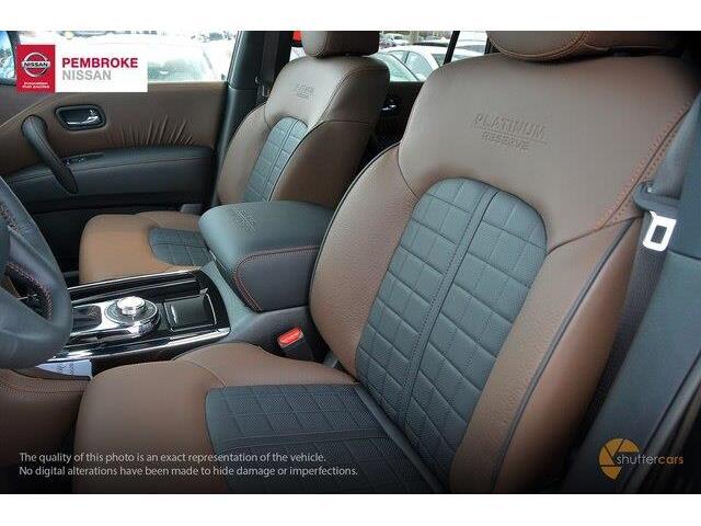 2018 Nissan Armada Platinum (Stk: S180125) in Pembroke - Image 11 of 20