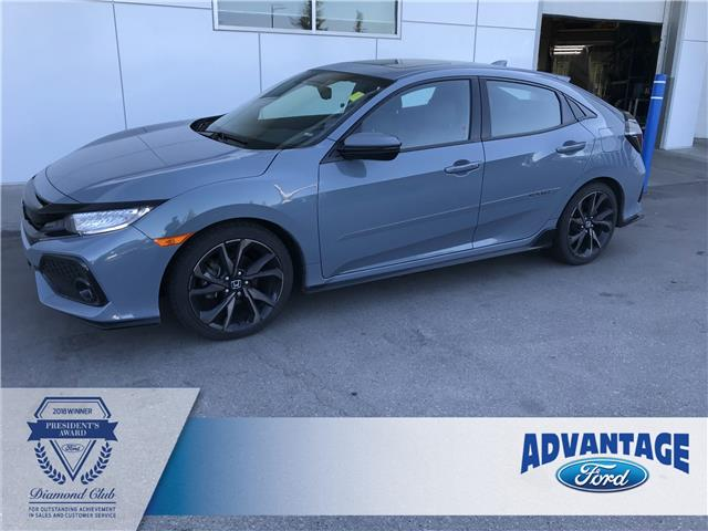 2017 Honda Civic Sport Touring (Stk: K-1925A) in Calgary - Image 1 of 21
