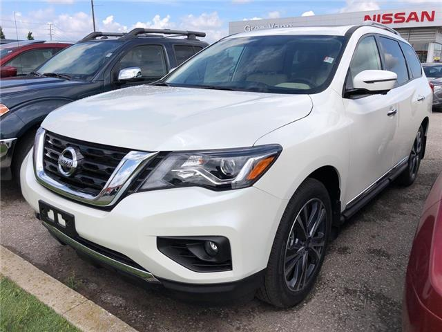 2019 Nissan Pathfinder Platinum (Stk: V0602) in Cambridge - Image 1 of 5