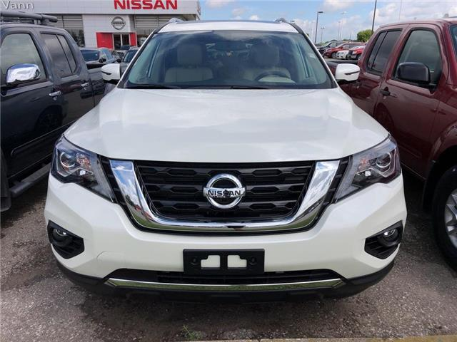 2019 Nissan Pathfinder Platinum (Stk: V0602) in Cambridge - Image 2 of 5