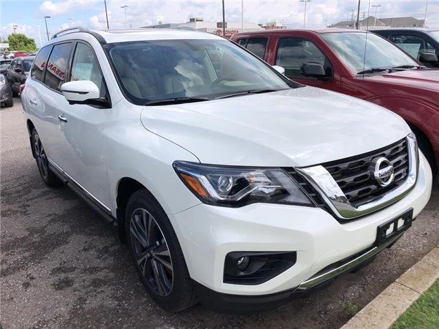 2019 Nissan Pathfinder Platinum (Stk: V0602) in Cambridge - Image 3 of 5