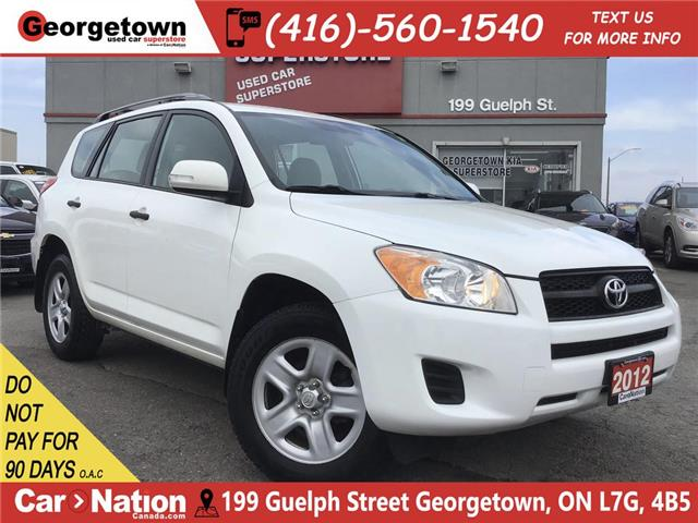 2012 Toyota RAV4 4X4 | A/C | POWER OPTIONS | 2.5L 4CYL | (Stk: SR19083A) in Georgetown - Image 1 of 23