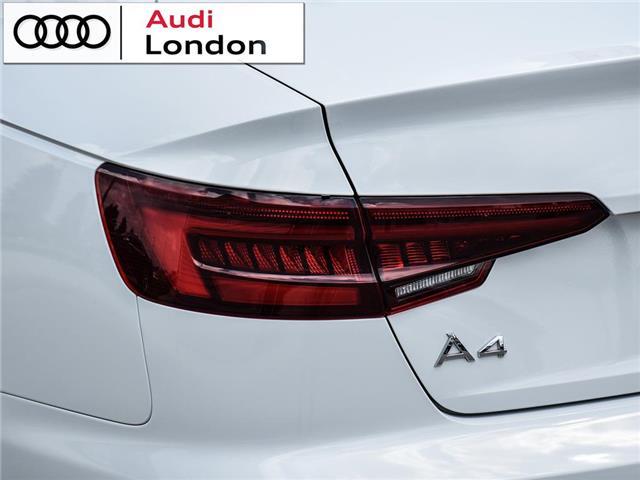 2018 Audi A4 2.0T Technik (Stk: 19307A) in London - Image 6 of 27