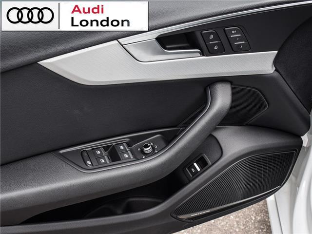 2018 Audi A4 2.0T Technik (Stk: 19307A) in London - Image 9 of 27