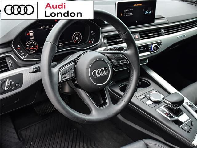 2018 Audi A4 2.0T Technik (Stk: 19307A) in London - Image 11 of 27