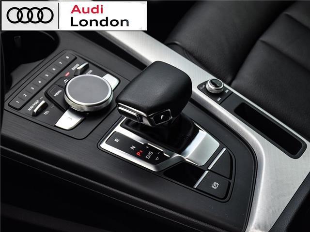 2018 Audi A4 2.0T Technik (Stk: 19307A) in London - Image 12 of 27