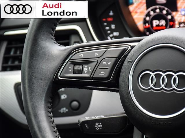 2018 Audi A4 2.0T Technik (Stk: 19307A) in London - Image 19 of 27