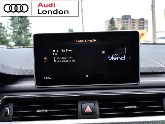 2018 Audi A4 2.0T Technik (Stk: 19307A) in London - Image 22 of 27