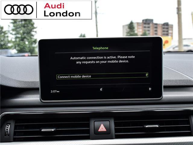 2018 Audi A4 2.0T Technik (Stk: 19307A) in London - Image 24 of 27