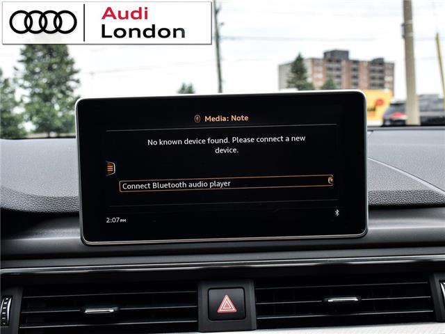 2018 Audi A4 2.0T Technik (Stk: 19307A) in London - Image 25 of 27