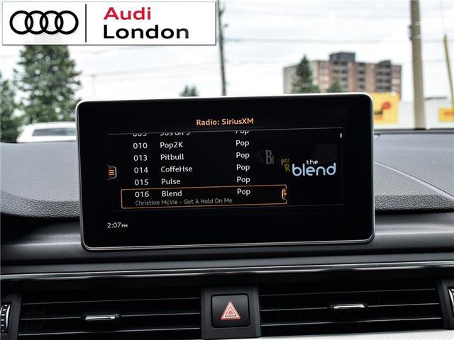 2018 Audi A4 2.0T Technik (Stk: 19307A) in London - Image 26 of 27