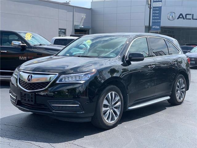 2016 Acura MDX Navigation Package (Stk: 4077) in Burlington - Image 2 of 30