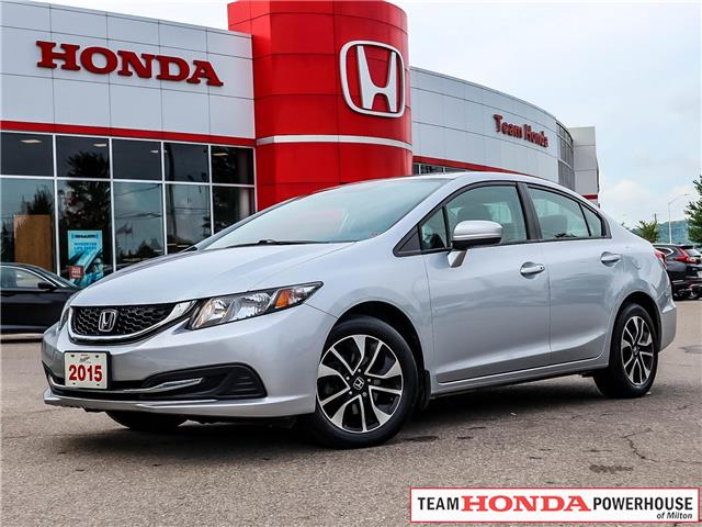 2015 Honda Civic EX (Stk: 3382) in Milton - Image 1 of 24