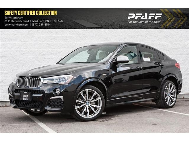 2017 BMW X4 M40i (Stk: U12310) in Markham - Image 1 of 21