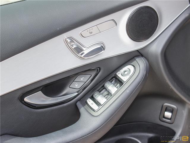 2017 Mercedes-Benz GLC 300 Base (Stk: 46589) in Toronto - Image 25 of 30