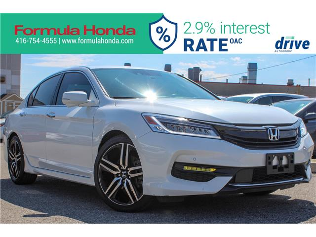 2017 Honda Accord Touring (Stk: 19-1592A) in Scarborough - Image 1 of 29