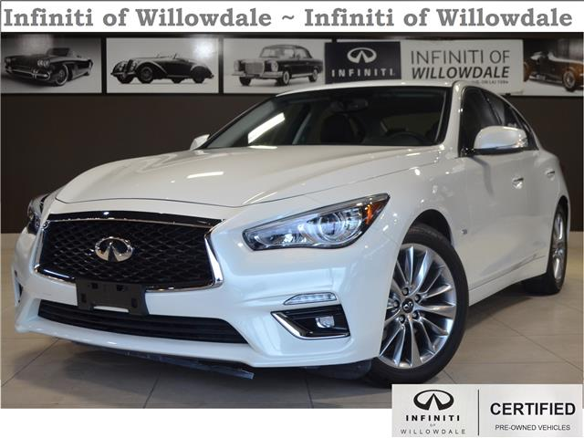 2018 Infiniti Q50 3.0t LUXE (Stk: H8761A) in Thornhill - Image 1 of 32