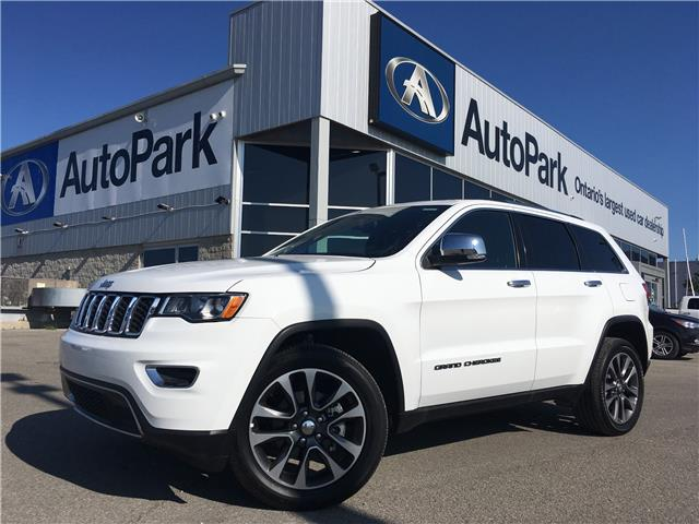 2018 Jeep Grand Cherokee Limited (Stk: 18-09415RMB) in Barrie - Image 1 of 30