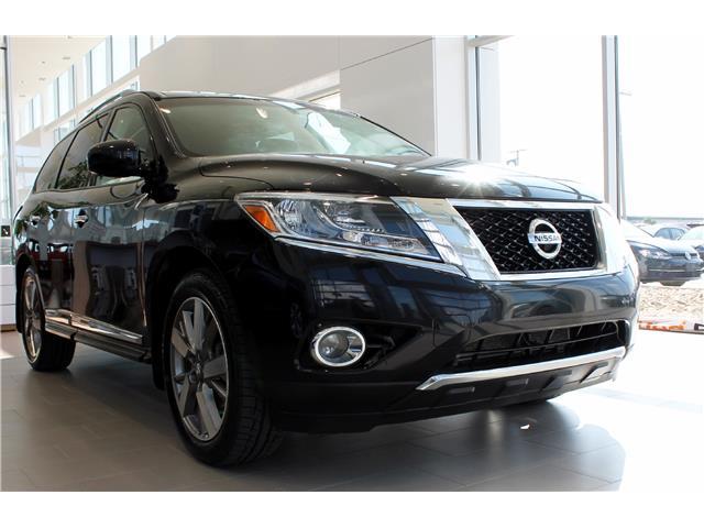 2014 Nissan Pathfinder Platinum (Stk: V7255) in Saskatoon - Image 1 of 26