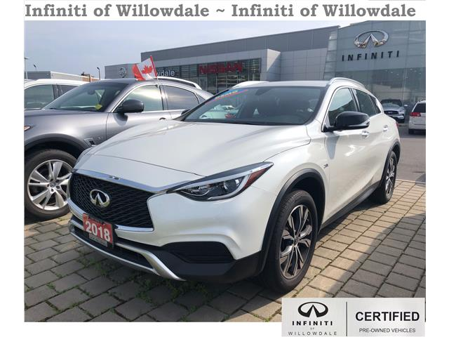 2018 Infiniti QX30 Luxe (Stk: DEMO-H7628) in Thornhill - Image 1 of 12