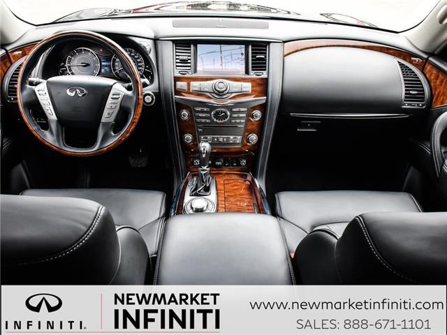 2017 Infiniti QX80 Base 7 Passenger (Stk: 17QX8015) in Newmarket - Image 13 of 26