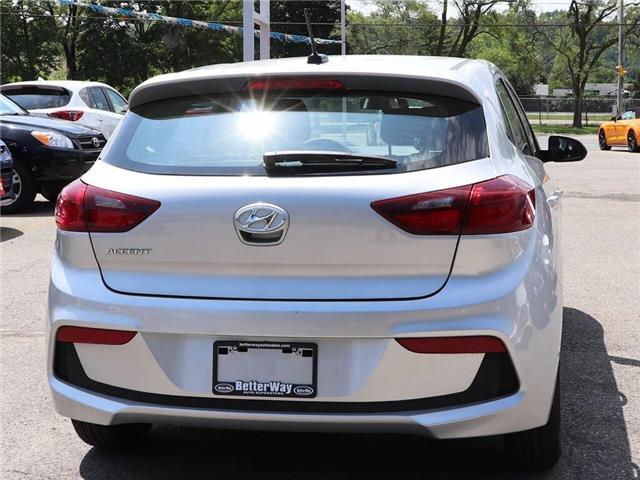2019 Hyundai Accent Preferred| Gas Saver| Backup Cam| Heat Seat (Stk: 5449) in Stoney Creek - Image 8 of 17