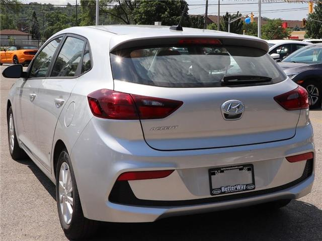 2019 Hyundai Accent Preferred| Gas Saver| Backup Cam| Heat Seat (Stk: 5449) in Stoney Creek - Image 9 of 17